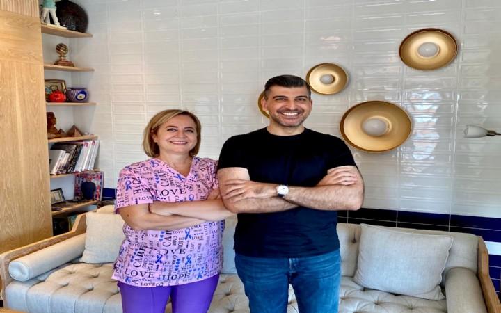 Kalust Şalcıoğlu'na 'Boğaz Gülüşü'